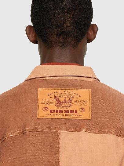Diesel - D-CORUS-SP JOGGJEANS, Marrón - Camisas de Denim - Image 4