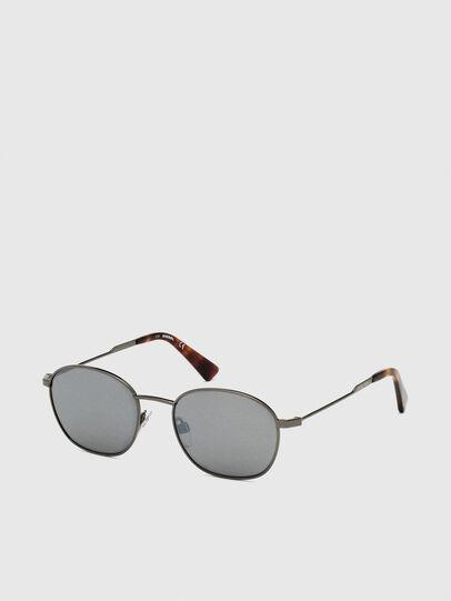 Diesel - DL0307, Gris - Gafas de sol - Image 2