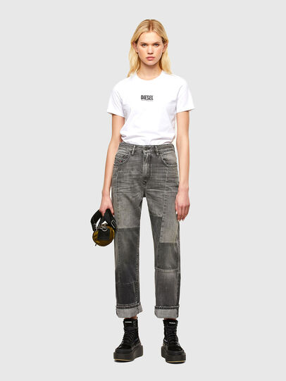 Diesel - T-SILY-SMALLOGO, Blanco - Camisetas - Image 4