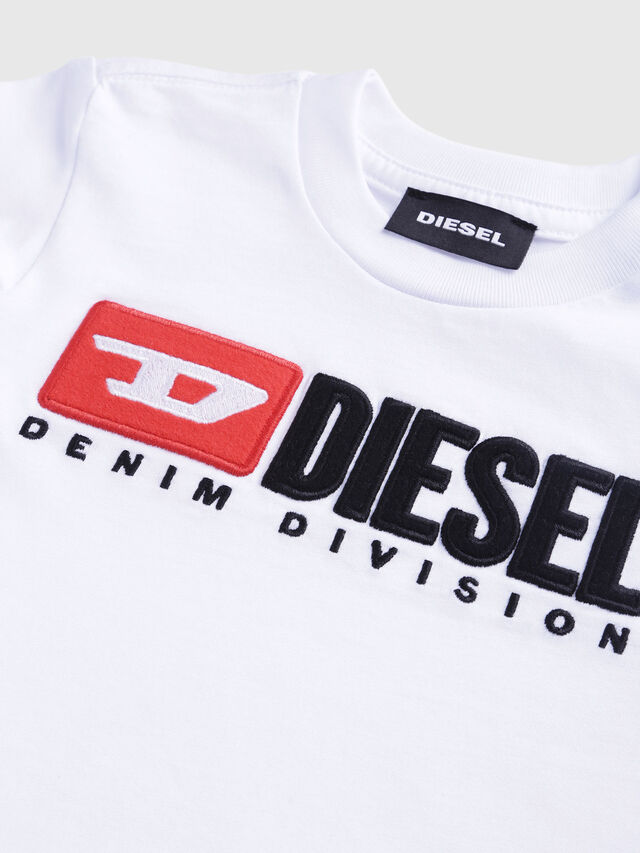 Diesel - TJUSTDIVISIONB-R, Blanco - Camisetas y Tops - Image 3