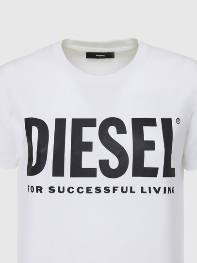 Diesel - T-SILY-WX, Blanco - Camisetas - Image 3