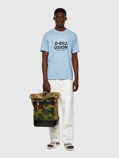 Diesel - T-JUBINDY, Azul Claro - Camisetas - Image 4