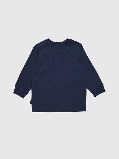 Diesel - TRAVEB, Azul Oscuro - Camisetas y Tops - Image 2