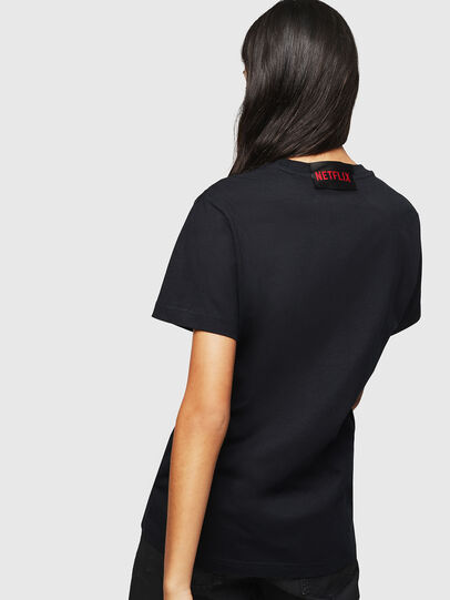 Diesel - LCP-T-DIEGO-TOKIO, Negro - Camisetas - Image 4