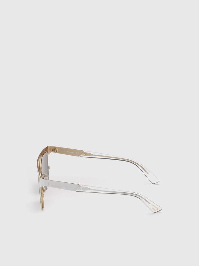 Diesel - DL0249, Blanco - Gafas de sol - Image 3