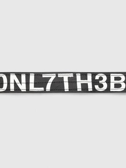 Diesel - B-R4V3, Negro/Blanco - Cinturones - Image 3