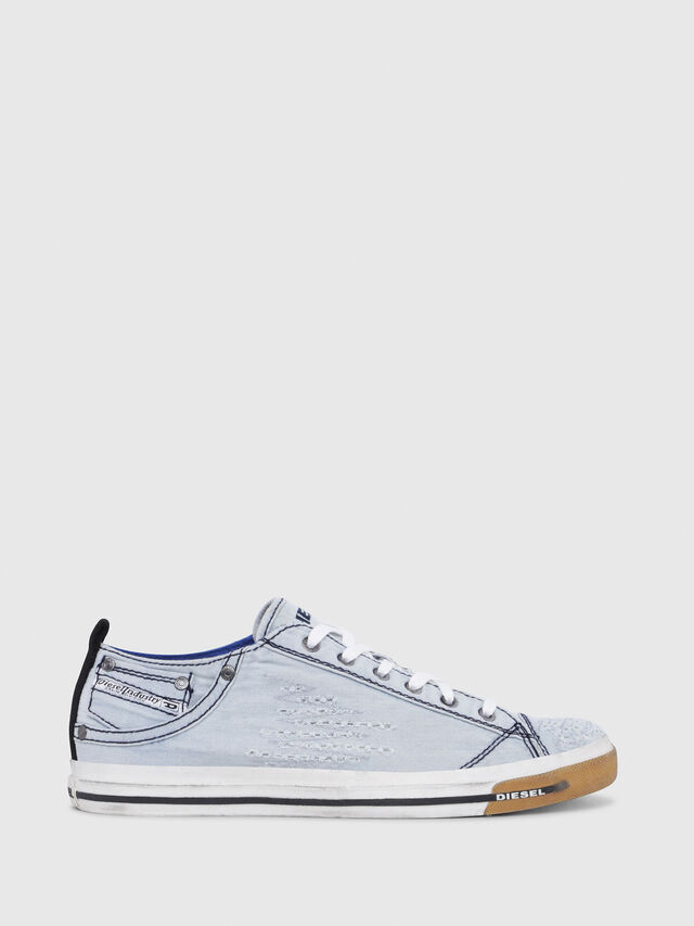Diesel - EXPOSURE LOW I, Azul Claro - Sneakers - Image 1