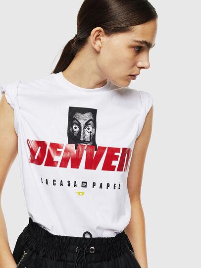 Diesel - LCP-T-DIEGO-DENVER, Blanco - Camisetas - Image 6