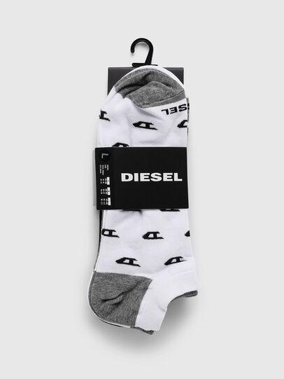 Diesel - SKM-GOST-THREEPACK, Gris/Blanco - Calcetines - Image 2