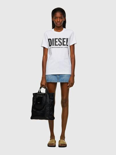 Diesel - ELLY, Negro - Bolsos Shopper y Al Hombro - Image 6