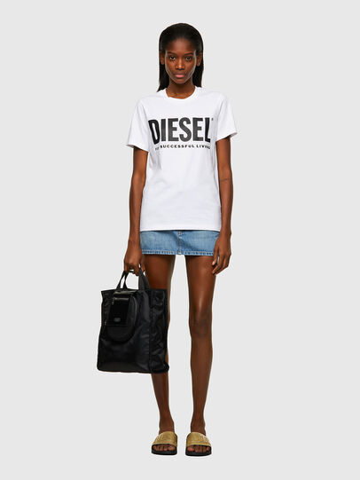 Diesel - T-SILY-ECOLOGO, Blanco - Camisetas - Image 4