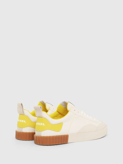 Diesel - S-BULLY LC, Blanco/Amarillo - Sneakers - Image 3