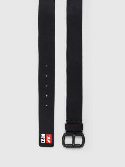 Diesel - B-DIVISION, Negro - Cinturones - Image 3