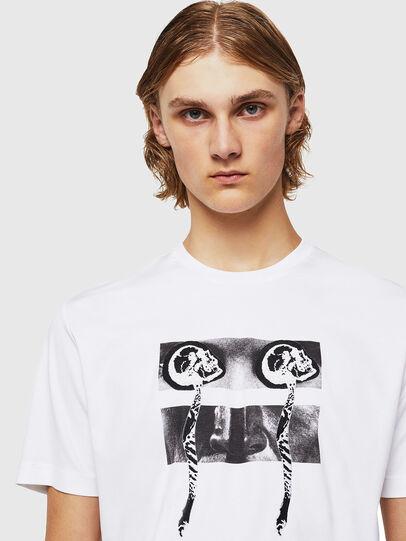 Diesel - TY-X1, Blanco - Camisetas - Image 4