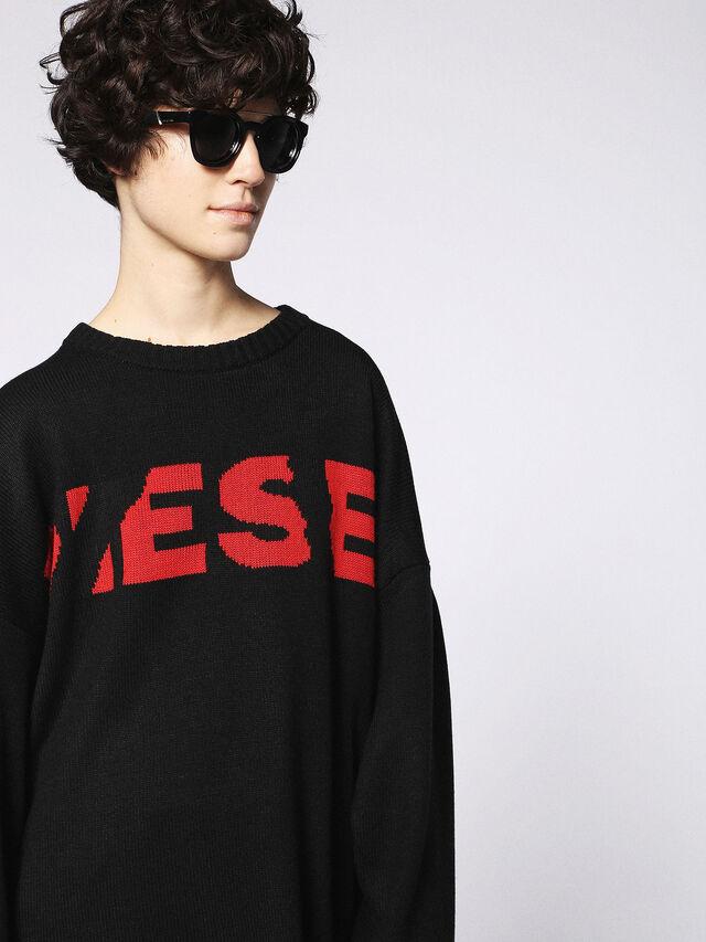 Diesel - DL0251, Negro Brillante - Gafas de sol - Image 6