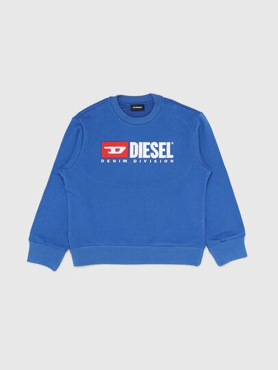 Diesel - SCREWDIVISION OVER, Cerúleo - Sudaderas - Image 1