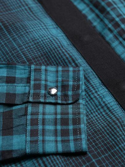 Diesel - CGARZ, Azul/Negro - Camisas - Image 3