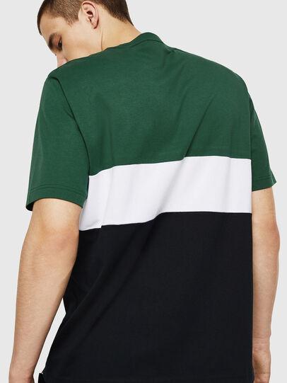 Diesel - T-JUST-A11, Verde/Negro - Camisetas - Image 2