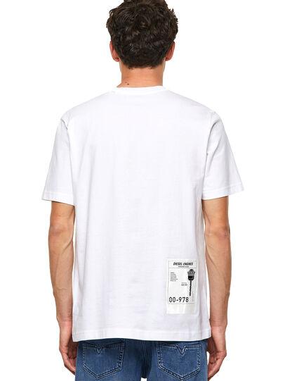 Diesel - T-JUST-B62, Blanco - Camisetas - Image 2