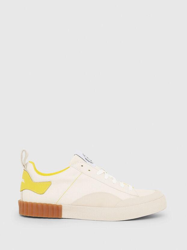 S-BULLY LC W, Blanco/Amarillo - Sneakers
