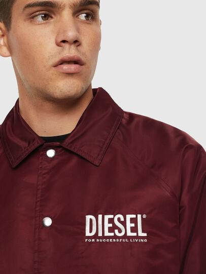 Diesel - J-AKIO-A, Burdeos - Chaquetas - Image 3