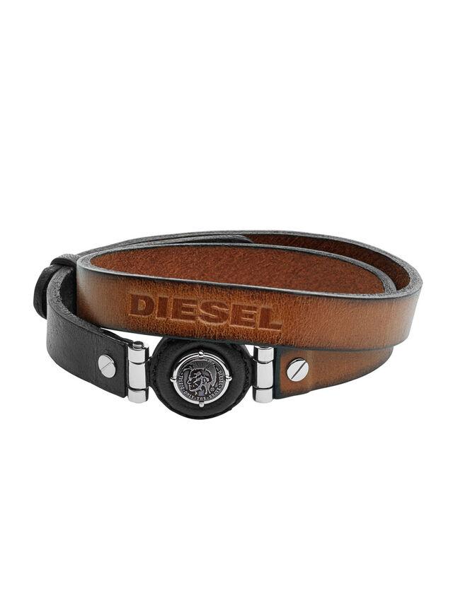 Diesel - BRACELET DX1021, Marrón - Pulseras - Image 1