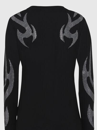 Diesel - T-ROSSINA, Negro - Camisetas - Image 5