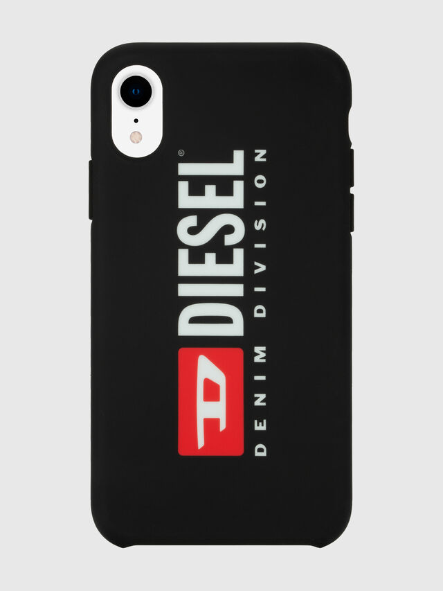 Diesel - DIESEL PRINTED CO-MOLD CASE FOR IPHONE XR, Negro/Blanco - Fundas - Image 4