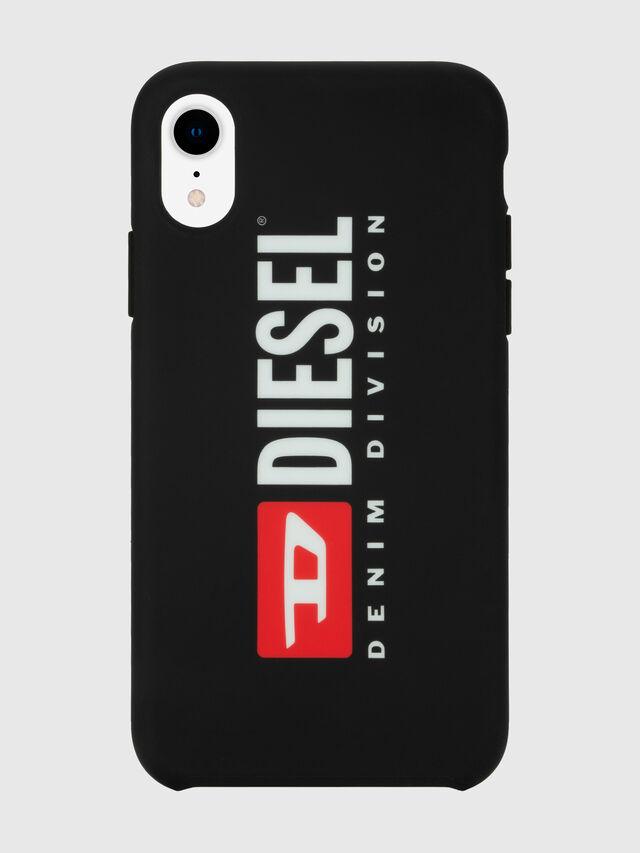 Diesel - DIESEL PRINTED CO-MOLD CASE FOR IPHONE XR, Negro/Blanco - Fundas - Image 4