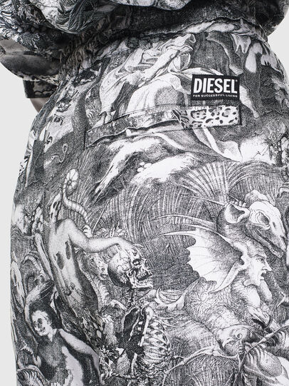Diesel - P-TOLL-FL, Negro/Blanco - Pantalones - Image 5