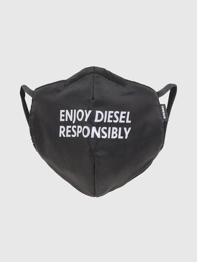 Diesel - FACEMASK-ENJOY, Negro - Otros Accesorios - Image 1