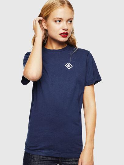 Diesel - CC-T-DIEGO-COLA, Azul Oscuro - Camisetas - Image 2