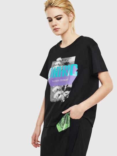 Diesel - T-SHALIE, Negro - Camisetas - Image 1