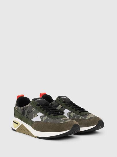 Diesel - S-KB LOW LACE II, Verde Camuflaje - Sneakers - Image 2