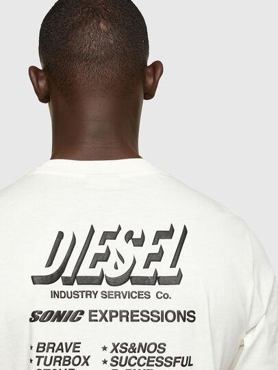 Diesel - T-JUST-A33, Blanco - Camisetas - Image 4