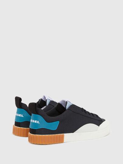 Diesel - S-BULLY LC, Negro/Azul marino - Sneakers - Image 3
