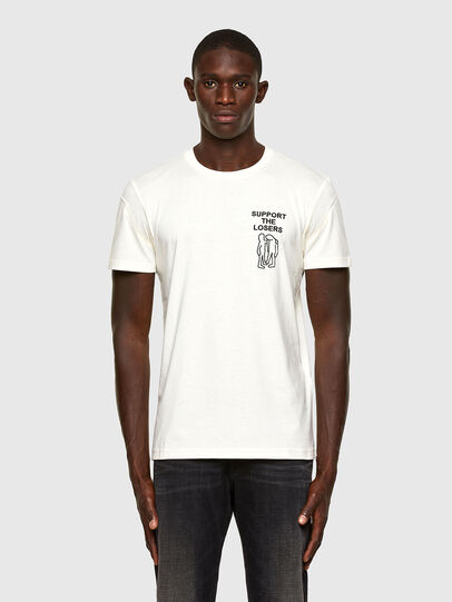 Diesel - T-DORYMO-A1, Blanco - Camisetas - Image 1