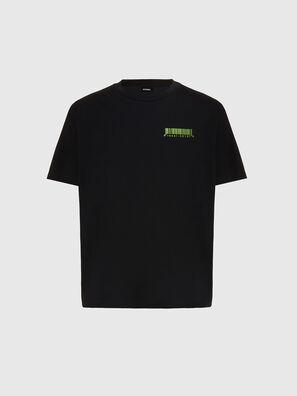T-JUST-SLITS-X84, Negro - Camisetas