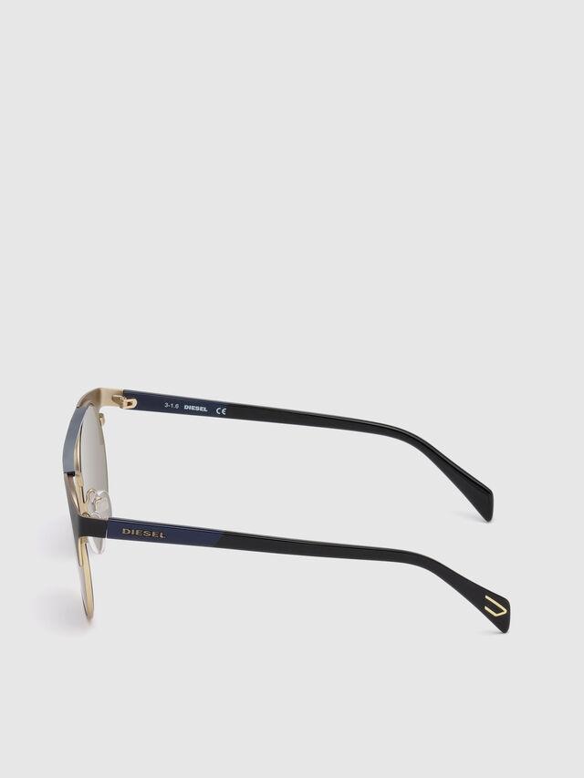 Diesel - DL0218, Negro/Azul - Gafas de sol - Image 3