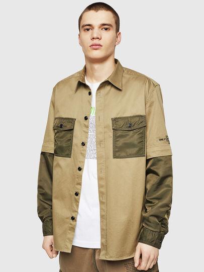 Diesel - S-KOSOV, Verde Militar - Camisas - Image 1