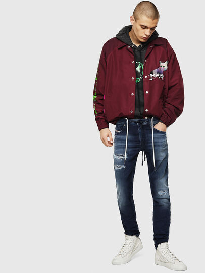 Diesel - Thommer JoggJeans 069JF, Azul Oscuro - Vaqueros - Image 5