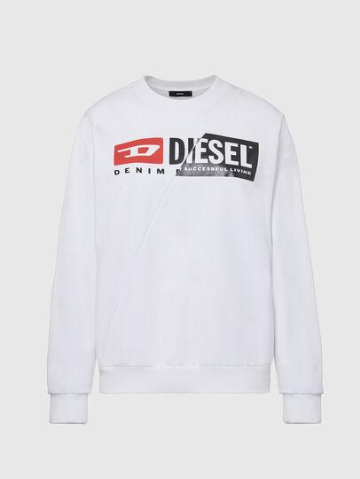 Diesel - F-ANG-CUTY, Blanco - Sudaderas - Image 1