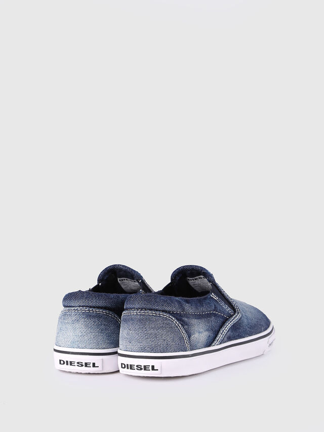 Diesel - SLIP ON 21 DENIM CH, Blue Jeans - Calzado - Image 3