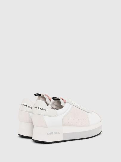Diesel - S-PYAVE WEDGE, Blanco/Rosa - Sneakers - Image 3