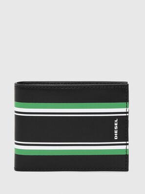 NEELA XS, Negro/Verde - Monederos Pequeños
