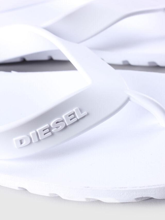 Diesel - SPLISH, Blanco - Chanclas - Image 4