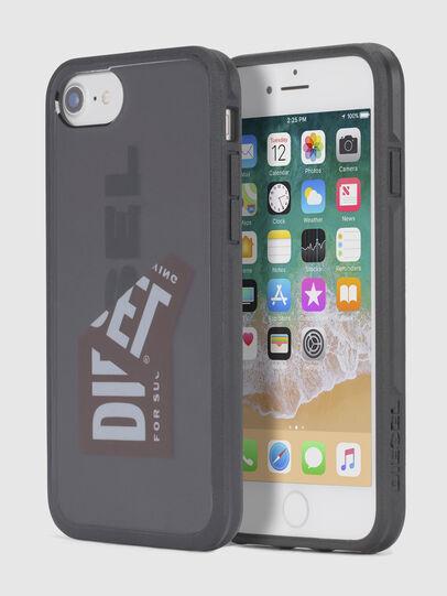 Diesel - STICKER IPHONE 8/7/6S/6 CASE, Negro - Fundas - Image 1