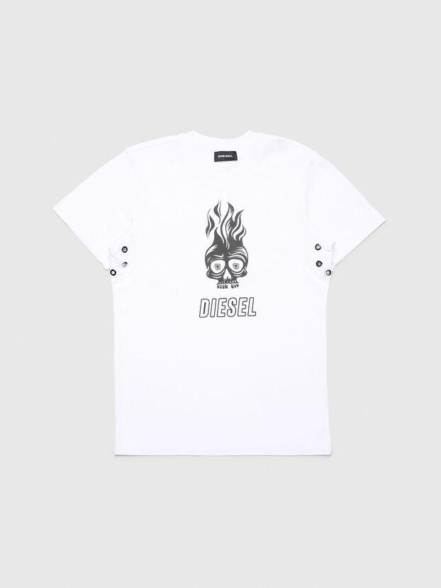 TUSILYWQ, Blanco - Camisetas y Tops