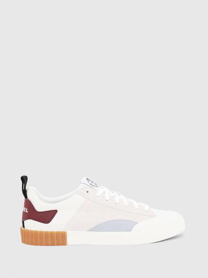 Diesel - S-BULLY LC, Blanco/Rojo - Sneakers - Image 1