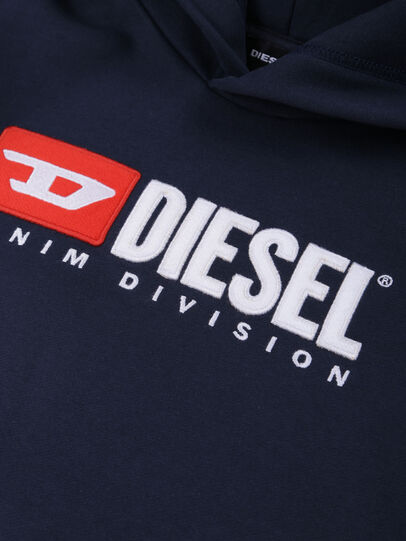 Diesel - SDIVISION OVER, Azul Noche - Sudaderas - Image 3